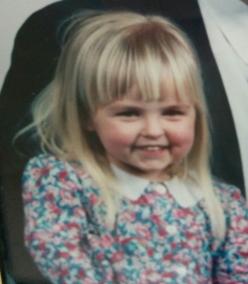 me as a kid