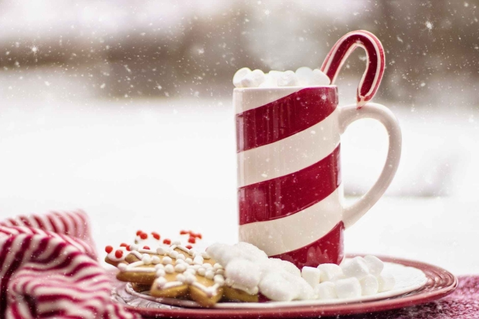 beverage blur candy candy cane christmas mug xmas
