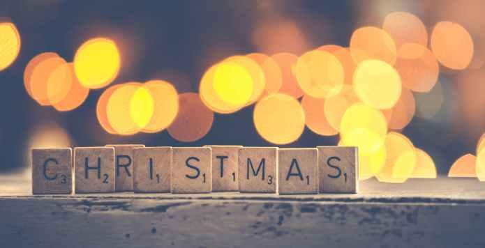 christmas scrabble lights xmas